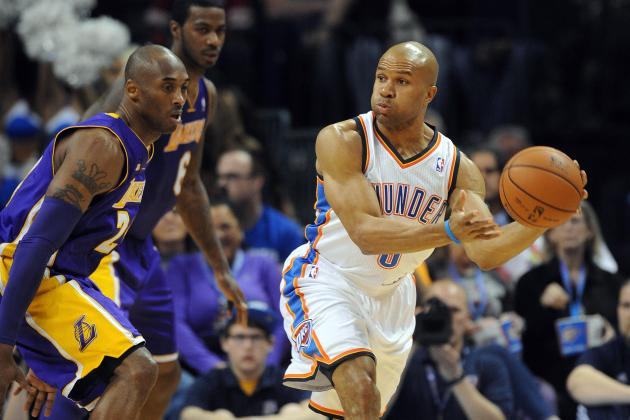 Thunder Tie NBA Record for Fewest Turnovers in a Game vs. Lakers