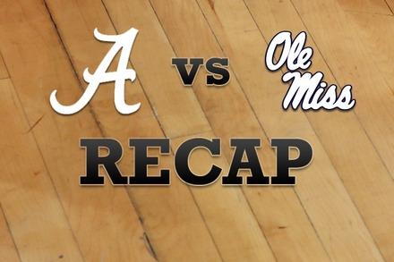 Alabama vs. Mississippi: Recap, Stats, and Box Score
