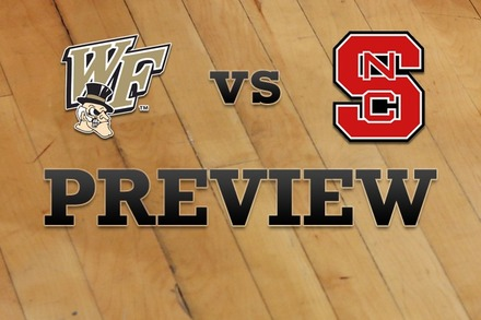 Wake Forest vs. NC State: Full Game Preview