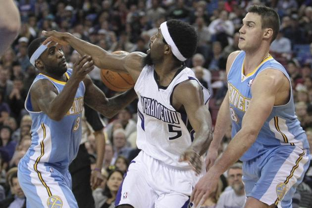 Dawson's 24, Gallinari's 23 Lead Nuggets Past Kings, 120-113