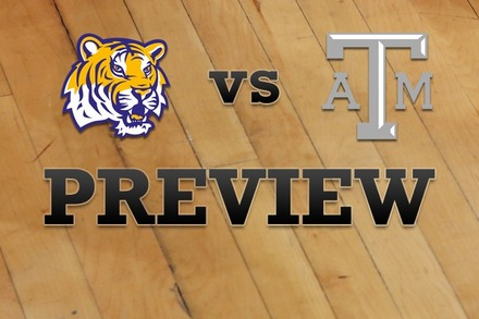 LSU vs. Texas A&M: Full Game Preview