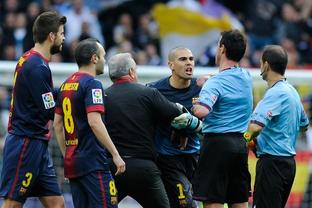 Four Game Ban for Valdes