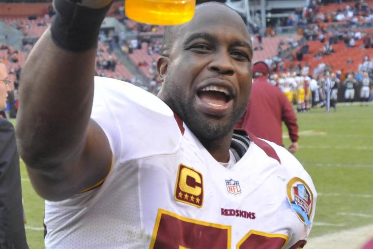 London Fletcher Having Elbow Surgery, Plans to Play in 2013
