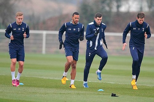 Bale Back at Spurs for Training but Adebayor Doubtful for Inter Clash