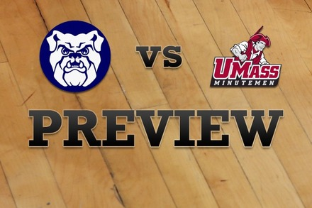 Butler vs. Massachusetts: Full Game Preview
