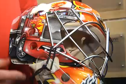 Video: MacDonald Unveils His New Mask