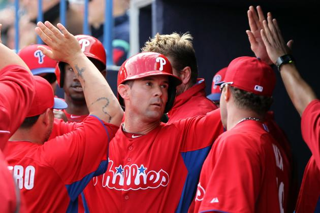 Phillies' Michael Young Adjusting to Return to Third Base