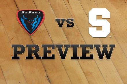 DePaul vs. Syracuse: Full Game Preview