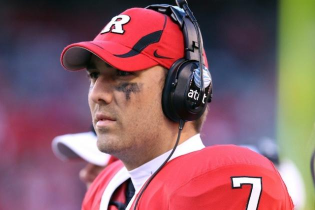 Former Rutgers QB Tom Savage Ready to Play at Pittsburgh