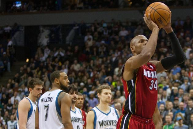 Timberwolves' J.J. Barea Rips Miami Heat's Ray Allen for 'Crying'