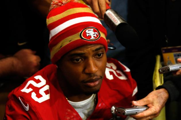 49ers' Culliver Visits with LGBTQ Crisis Support Group