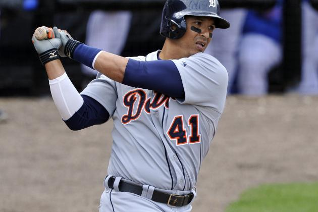 Victor Martinez Returns to Tigers' Lineup