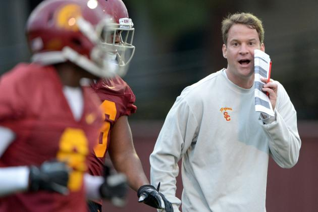 USC Still Trying to Figure Out Who's Calling the Plays in 2013
