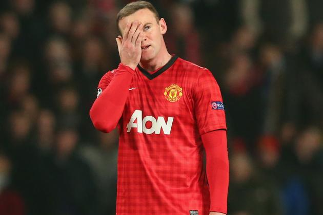 Wayne Rooney's Starting Lineup Absence Cost Manchester United vs. Real Madrid