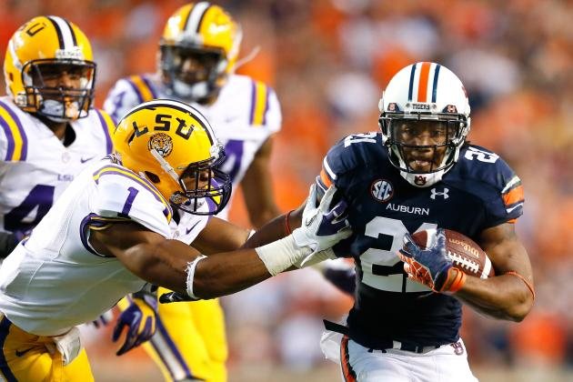Breaking Down Auburn's Hurry-Up, No-Huddle Offense: Running Backs