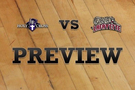 Holy Cross vs. Lafayette: Full Game Preview
