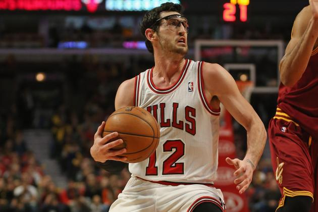 Bulls' Kirk Hinrich Out Tonight vs. Spurs