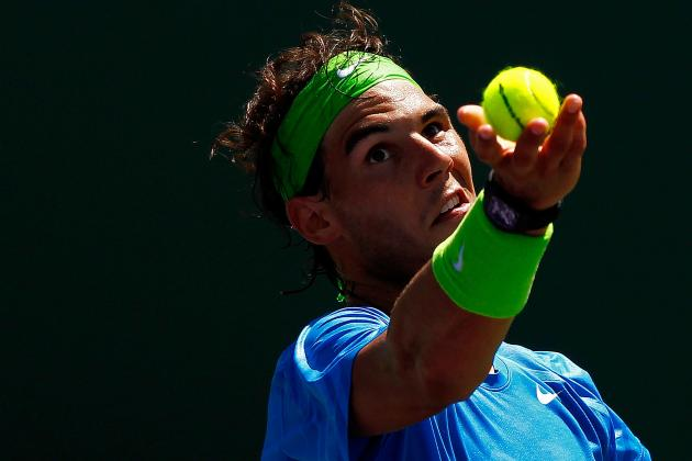 Expectations for Rafael Nadal in Big Four Reunion at Indian Wells