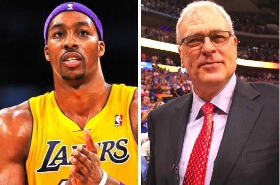 Dwight Howard Getting Support from Texting Buddy Phil Jackson