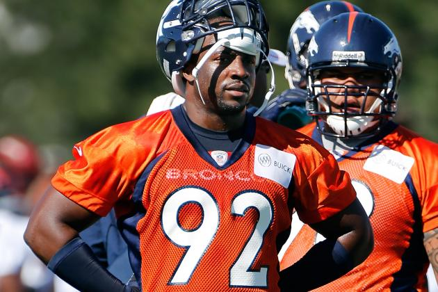 Broncos Want to Re-Do Dumervil's Deal, Won't Pay Him $12M for 2013
