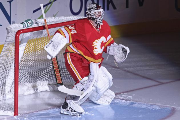 Flames' Kiprusoff to Return Tonight After Missing 13 Games