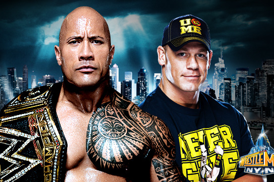 WWE: Unlike Last Year, Hype for Rock-Cena II at WrestleMania 29 Seems Forced
