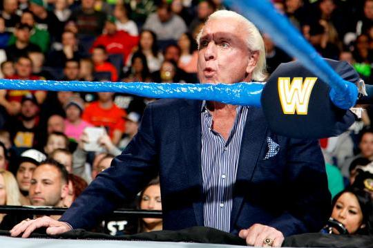 WWE Concerned About Ric Flair's Health, Won't Be Taking Any Bumps