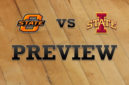 Oklahoma State vs. Iowa State: Full Game Preview