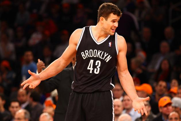 Report: Kris Humpries No Longer in Brooklyn's Rotation