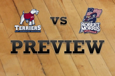 St. Francis (NY) vs. Robert Morris : Full Game Preview