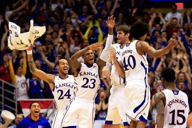 Breaking Down Kansas' Case for No. 1 Seed in NCAA Basketball Tournament