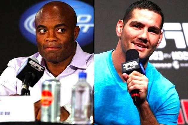 Anderson Silva vs. Chris Weidman Title Fight Agreed for UFC 162 on July 6