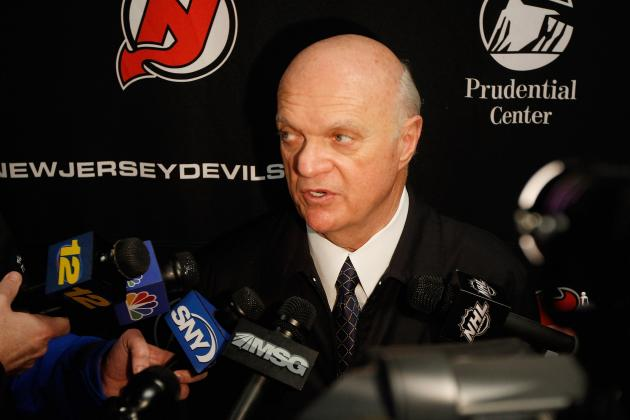 Devils GM Lou Lamoriello: No Setback for Goalie Martin Brodeur