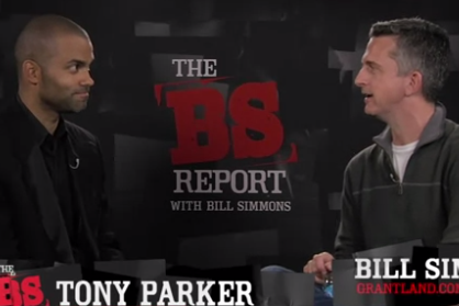 Spurs Guard Tony Parker Sits Down with Bill Simmons
