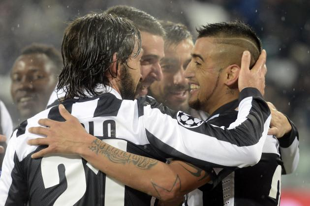 Juventus vs. Celtic 2013: Juve's Dominance Makes for Major UCL Threat