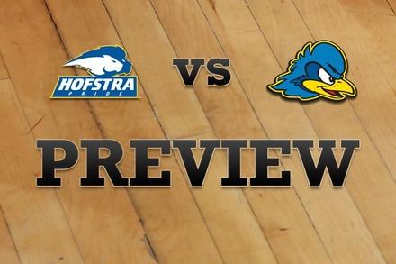 Hofstra vs. Delaware: Full Game Preview