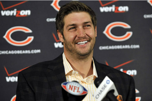Jay Cutler Could Use a Pair of Fish Tweezers