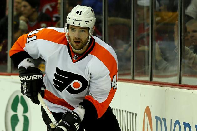 Flyers' Meszaros Frustrated; Grossmann Day to Day