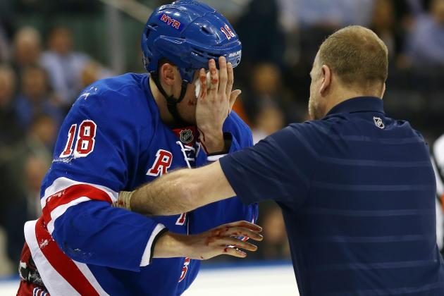 Marc Staal Injury News: Rangers Defenseman Sparks Debate on NHL Visor Use