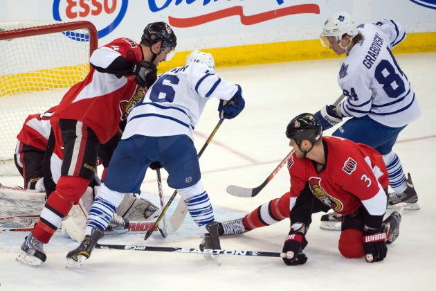 ESPN GameCast: Ottawa Senators vs. Toronto Maple Leafs