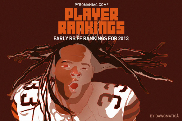 2013 Fantasy Football: Early Rankings on the Top-50 Running Backs