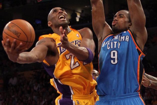 Kobe Bryant Told Serge Ibaka His Nutshot on Blake Griffin Was