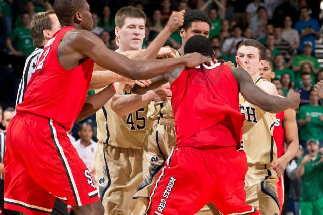 Big East Will Take No Further Action After St. John's-Notre Dame Altercation