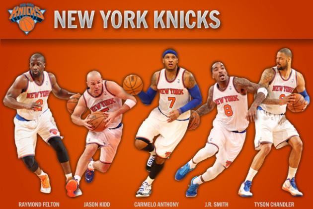 Examining NY Knicks' Ideal Starting Lineup by the Numbers