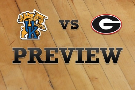 Kentucky vs. Georgia: Full Game Preview