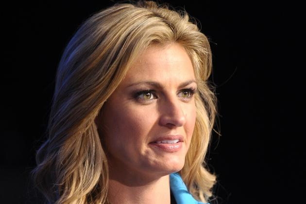 Erin Andrews: Awkward Kiss with 50 Cent Boosts Reporter's Celebrity Profile