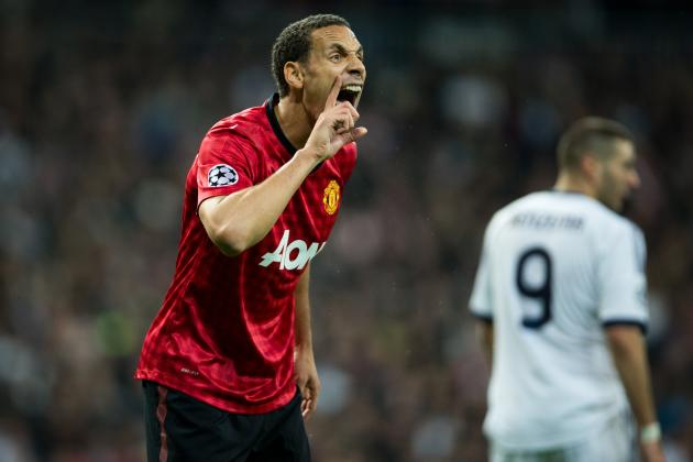 Manchester United vs. Real Madrid: Rio Ferdinand Should Face Action over Antics
