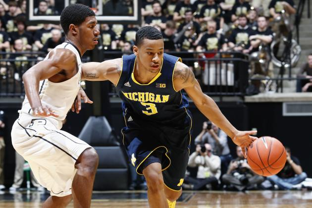 No. 7 Michigan 80, Purdue 75