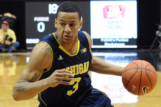 Trey Burke Does It Again, and Michigan Keeps Its Big Ten Title Hopes Alive