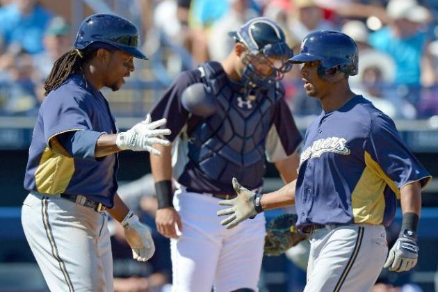 Brewers Prospect Khris Davis Showing His Power